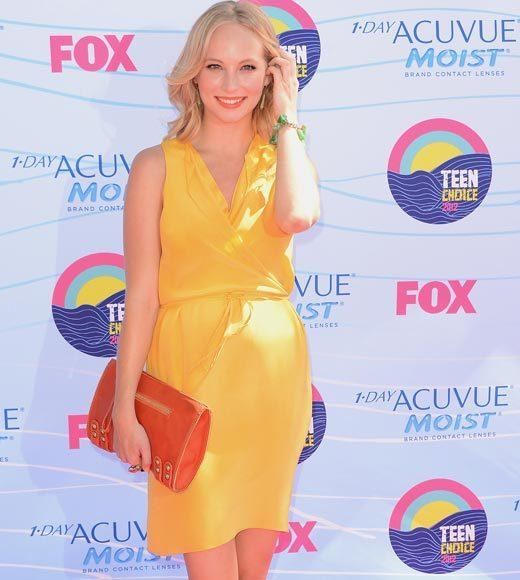 2012 Teen Choice Awards red carpet arrival pics: Candice Accola