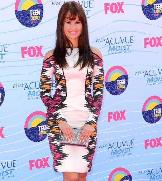 2012 Teen Choice Awards red carpet arrival pics: Debby Ryan