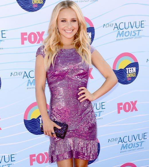 2012 Teen Choice Awards red carpet arrival pics: Hayden Panettiere