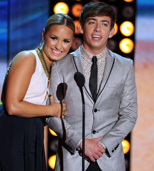 2012 Teen Choice Awards best and worst moments: That was the theme of the night for hosts Kevin McHale and Demi Lovato and virtually everyone who appeared on stage as a presenter. The audience seemed really uninterested in any of the shows connective tissue, and as a result most of the attempts at comedy fell flat. McHale and Lovato found their footing as the show went on, but as a whole the production was pretty bumpy.  -- Rick Porter, Zap2it