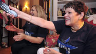 It was an evening of champagne and tissues at Jan Warner's Hagerstown home.