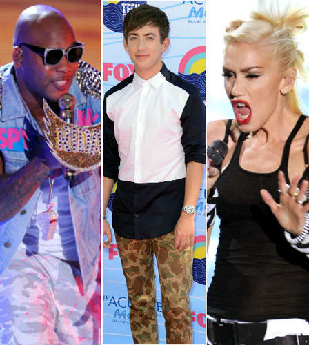 From co-host Kevin McHale's unfortunate red (er, pink) carpet ensemble and Justin Bieber's performance to Selena Gomez's impromptu birthday celebration and No Doubt's return to the stage, the 2012 Teen Choice Awards were filled with memorable moments. Click through for the highlights!