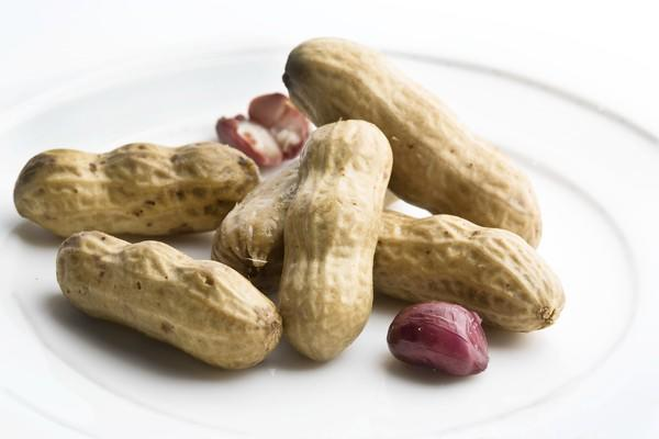 Hot boiled peanuts are a favorite snack in the South.