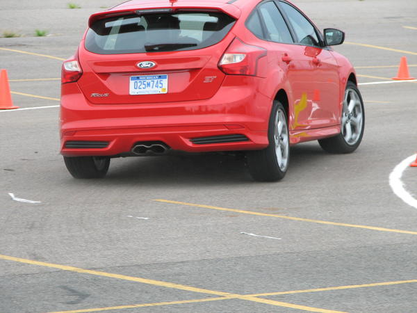 The organizers said the idea of the academy is to get people who might own a competitive vehicle to put the Focus ST on their list for next time.