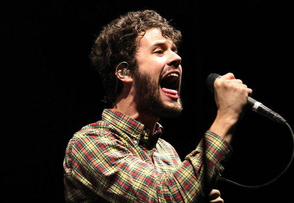 Michael Angelakos of Passion Pit.