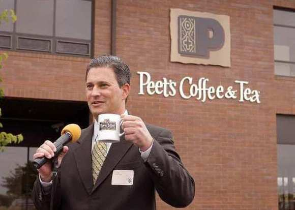 Peet's Coffee & Tea Chief Executive Pat O'Dea