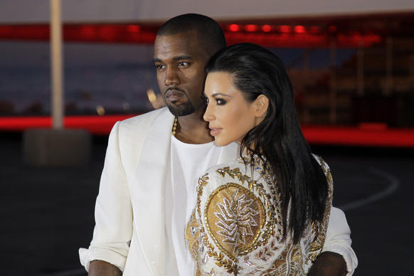 Months after Kim Kardashian's highly publicized breakup with NBA player Kris Humphries, Kardashian was spotted with Kanye West, a longtime friend. The couple of nine months have since announced they are expecting a child together.