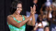 WASHINGTON--First lady Michelle Obama begins a four-day trip to London on Thursday to take in the 2012 Olympic Games, meet with Queen Elizabeth and inspire kids to get fit.