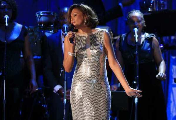 Whitney Houston, shown during a pre-Grammy Award performance in 2011, will be the subject of a new exhibit coming to the Grammy Museum in L.A.