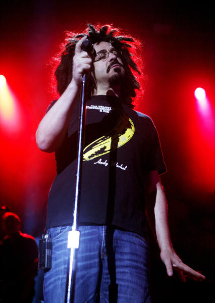 Counting Crows perform at the XPoNential Music Festival at the Susquehanna Bank Center in Camden, New Jersey, on July 22.