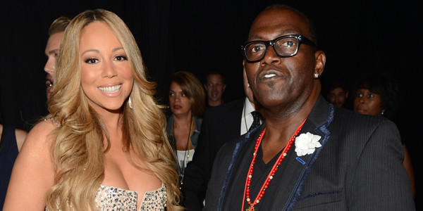 Mariah Carey and Randy Jackson attend the July 1 BET Awards at The Shrine Auditorium in L.A.