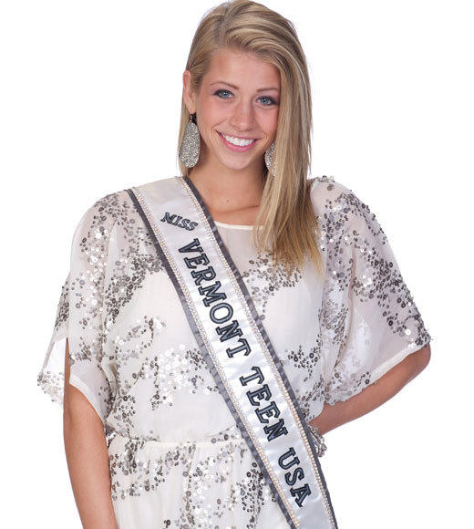 Miss Teen USA 2012 Contestants Pictures: Karsen Woods, Miss Vermont Teen