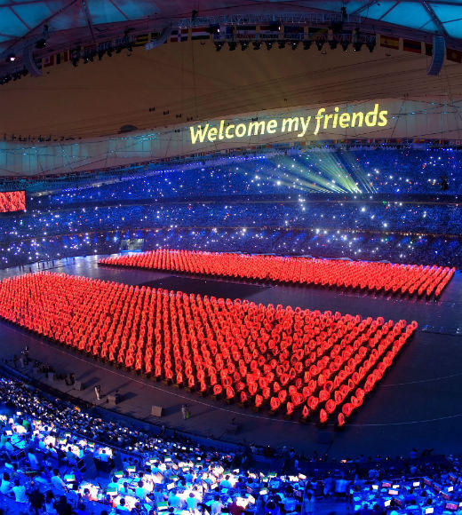 Olympic Games: Opening ceremonies throughout the years: Beijing