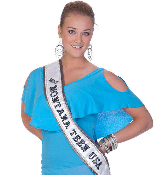 Miss Teen USA 2012 Contestants Pictures: Danica Mae Jansma, Miss Montana Teen