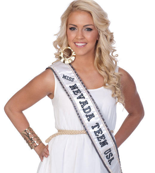 Miss Teen USA 2012 Contestants Pictures: Katie Eklund, Miss Nevada Teen