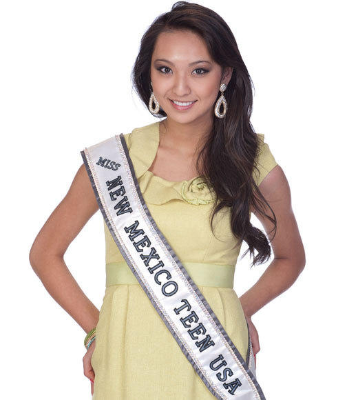 Miss Teen USA 2012 Contestants Pictures: Jacqueline Cai, Miss New Mexico Teen