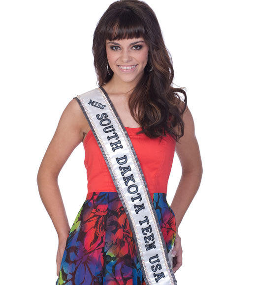 Miss Teen USA 2012 Contestants Pictures: Kalani Jorgensen, Miss South Dakota Teen
