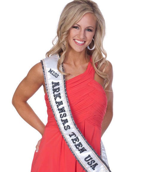 Miss Teen USA 2012 Contestants Pictures: Amber Mitchell, Miss Arkansas Teen