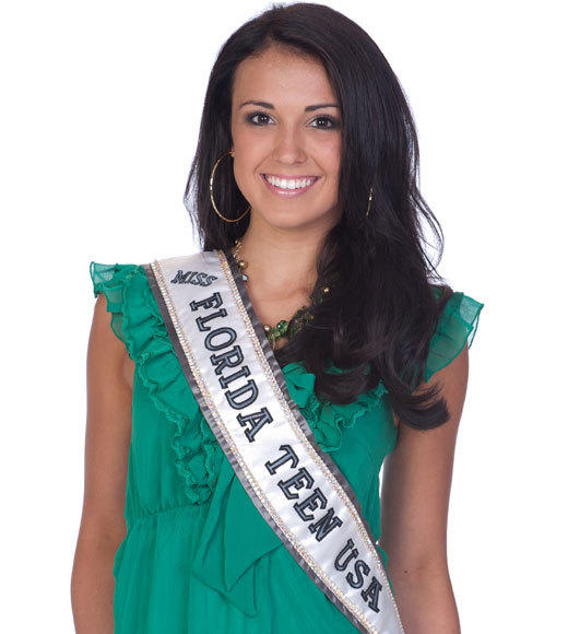 Miss Teen USA 2012 Contestants Pictures: Sydney Martinez, Miss Florida Teen