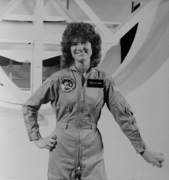 This undated file photo released by NASA shows astronaut Sally Ride. Ride, the first American woman in space, died Monday after a battle with pancreatic cancer. She was 61.