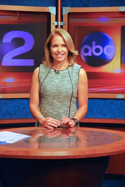 Katie Couric in Baltimore Monday to talk about her new show, 'Katie,' which debuts sept. 10 on WMAR (Channel 2).