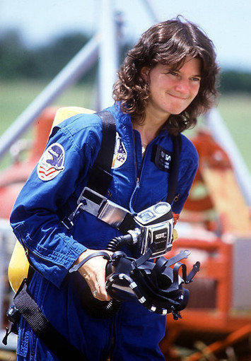 Sally Ride was a role model for women, and she handled the responsibility with grace, friends and colleagues said.