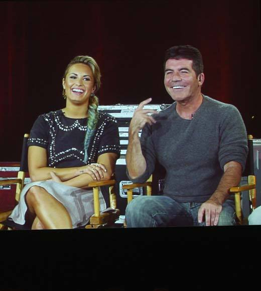 Overheard at 2012 Summer TV Press Tour: Demi is a brat ... Britneys quite mean. -- Simon Cowell