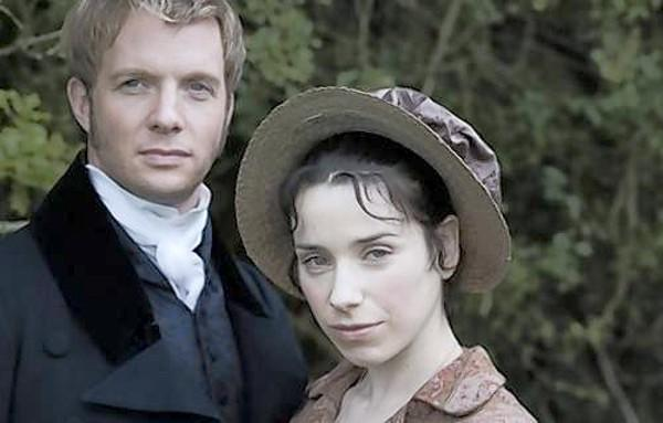 "Rupert Penry Jones and Sally Hawkins star in ""Persuasion."""
