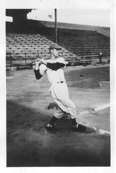 In his Northern League days, Bernie Gerl was a top hitter and strong-armed catcher for the Duluth Dukes. Courtesy photo