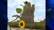 Monument Rocks in Gove County up for auction