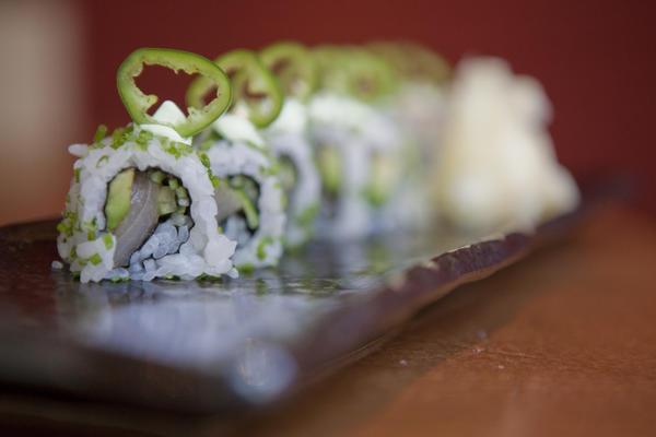 Sushi at Roka Akor