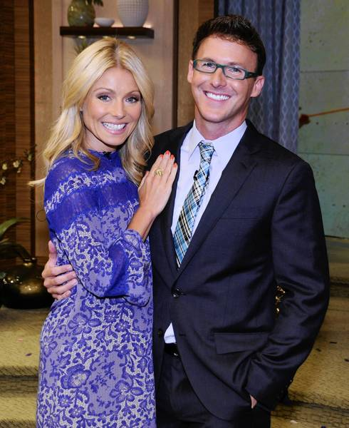 Michael Buckley of Meriden plays co-host with Kelly Ripa on Tuesday, July 24.