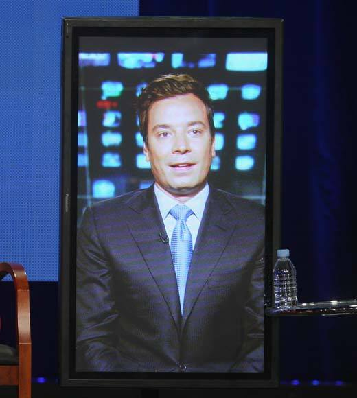 Overheard at 2012 Summer TV Press Tour: I feel like Im on Dateline. I feel like Lester Holt. -- Jimmy Fallon on his being present at the panel via satellite.