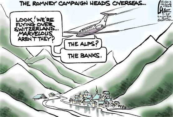 Romney's overseas trip