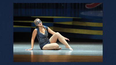 Brooke Schlosnagle won first place in her division of 15-16-year-old recreational gymnastics at the Encore Grand Finals in Savannah, Ga.