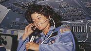 Sally Ride had the coolest name. Perfect for the first American woman in space.
