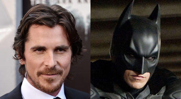 "Actor Christian Bale, Batman in ""The Dark Knight Rises,"" visited victims of the theater shooting in Aurora, Colo."
