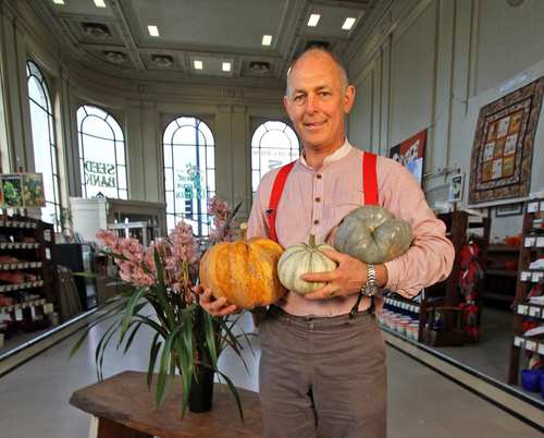 Paul Wallace manages the Petaluma Seed Bank, which sells nearly 1,300 types of heirloom seeds plus gardening books, magazines and more.