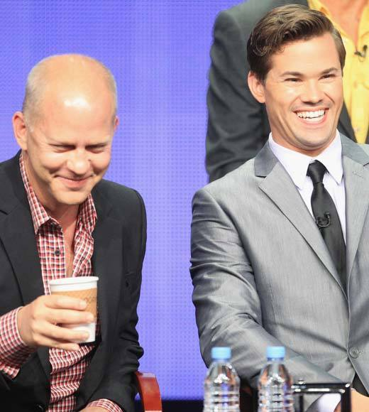 Overheard at 2012 Summer TV Press Tour: TCA member: This is the first conventionally attractive gay couple on TV. Ryan Murphy: Ouch. Andrew Rannells: Ouch. And thank you.