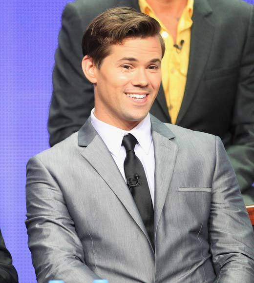 Overheard at 2012 Summer TV Press Tour: I was very excited I was mentioned by first and last name in the boycott. -- Andrew Rannells on the boycott of the show by the One Million Moms group.