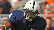 Calvert Hall College graduate Adrian Amos will remain with Penn State, he confirmed via his Twitter account Tuesday night.