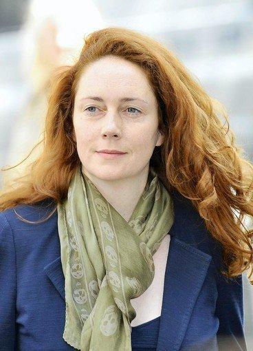 Former News International executive Rebekah Brooks appears at Westminster Magistrates Court in London in June.