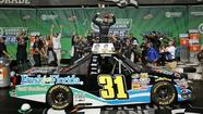 Buescher claims third Trucks win with last-lap pass at Chicagoland