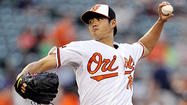 Orioles left hander Wei-Yin Chen's one critical mistake on Tuesday night came against the most unlikeliest of hitters.