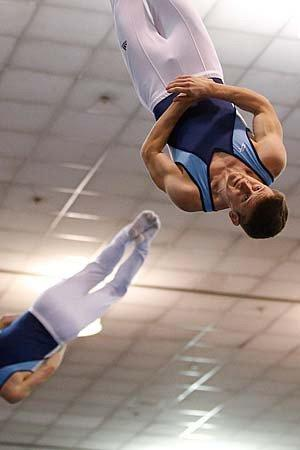 Olympics 2012: Trampoline gymnastics