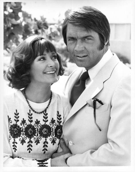"Although Chad Everett had a range of TV and movie roles over a career that began in the early 1960s, he made a lasting impression as Dr. Gannon on ""Medical Center."" Above, Everett is shown his wife, actress Shelby Grant, in 1975."