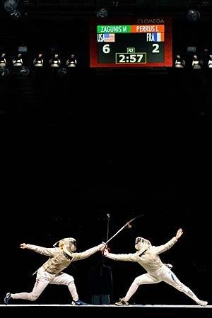 Olympics 2012: Fencing.