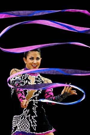 Olympics 2012: Rhythmic gymnastics.