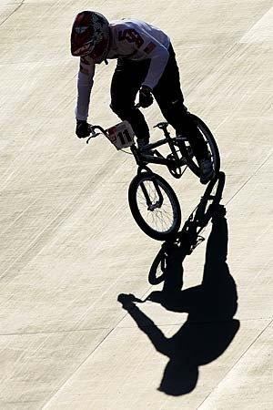 Olympics 2012: BMX cycling.