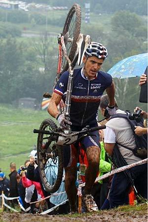 Olympics 2012: Mountain bike, cycling.